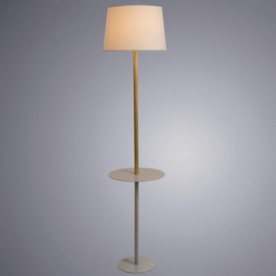 Торшер Arte Lamp Connor A2102PN-1WH
